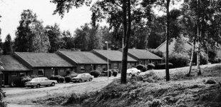 Radhus och villa i Fengersfors 1983
