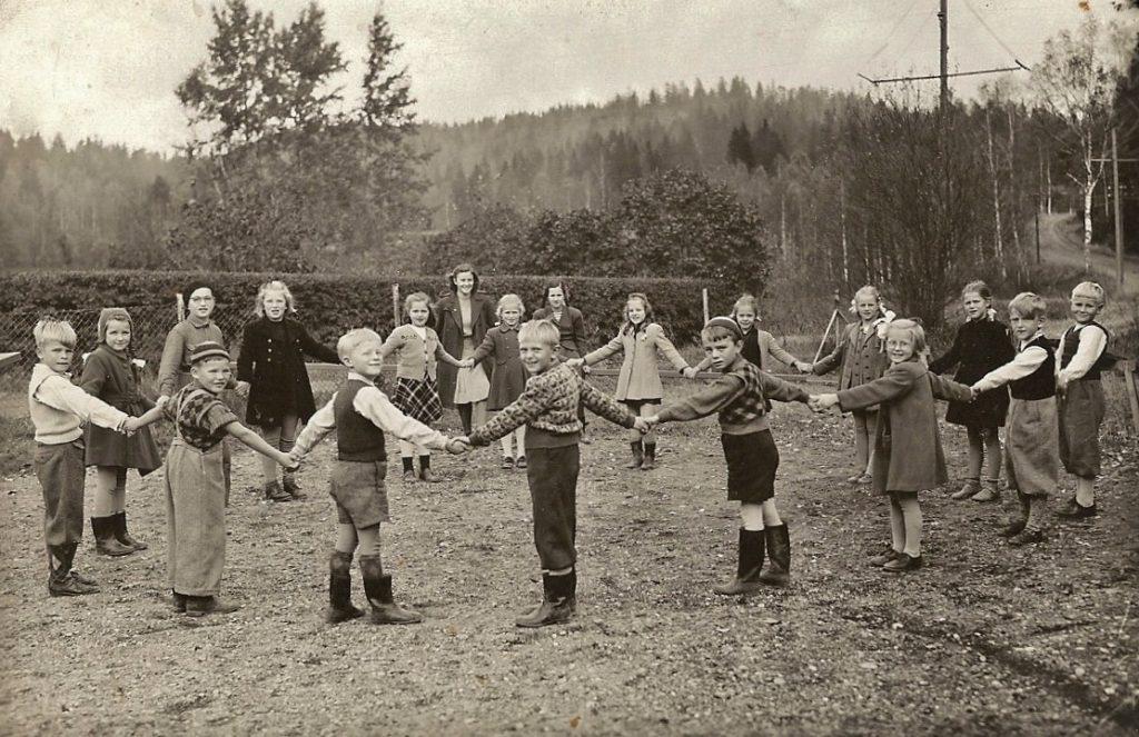 Småskolan Fengersfors omkr 1948
