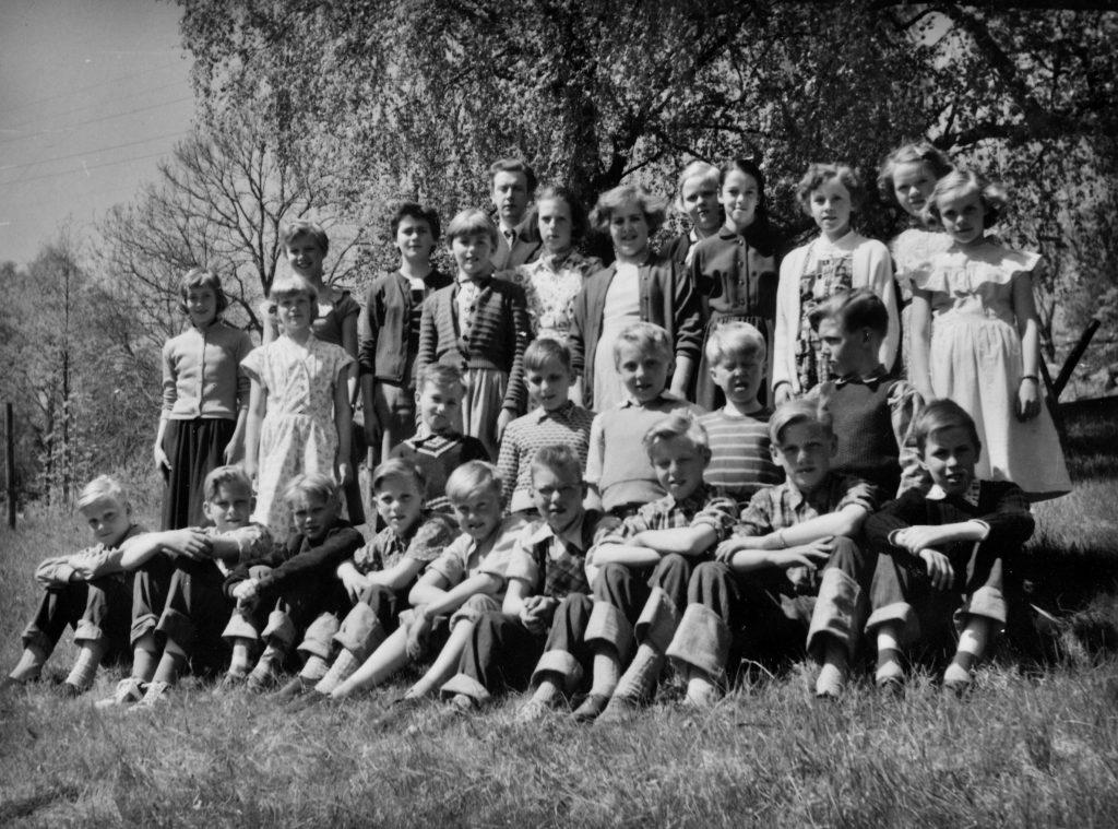 Fröskog skola 1954 kl 5-6