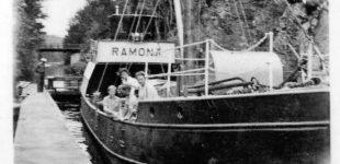 Ramona i Strömmens sluss