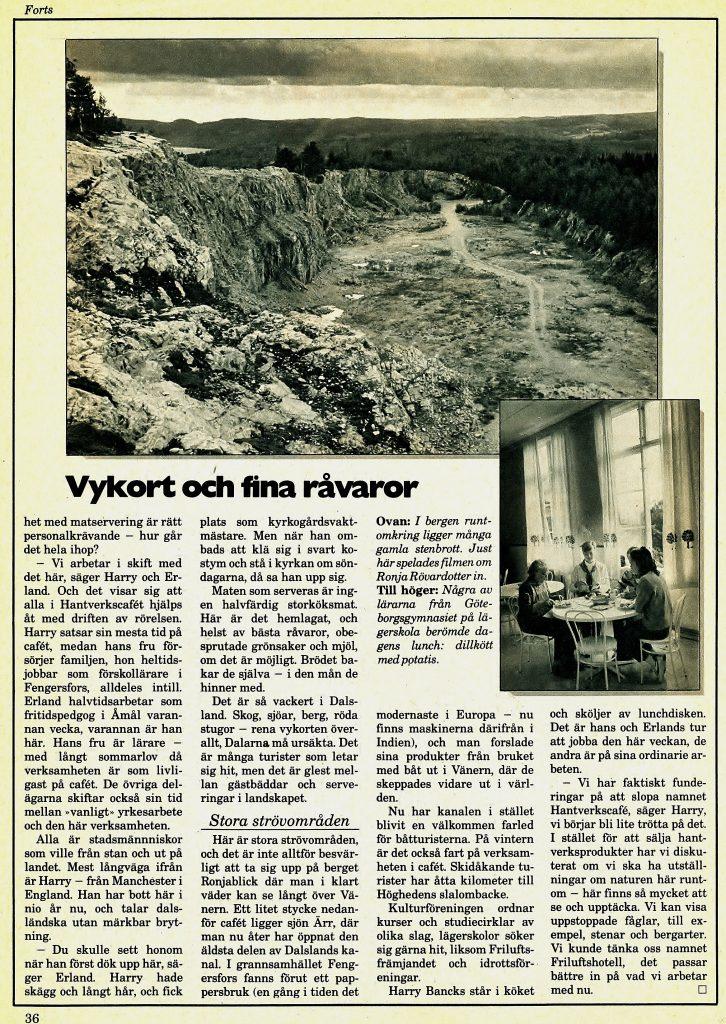Cafe Fröskog B