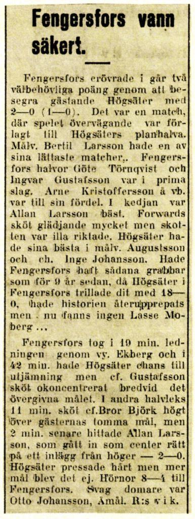 FIK referat 1949