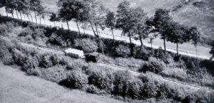 Tåget mellan bruket och Ärran