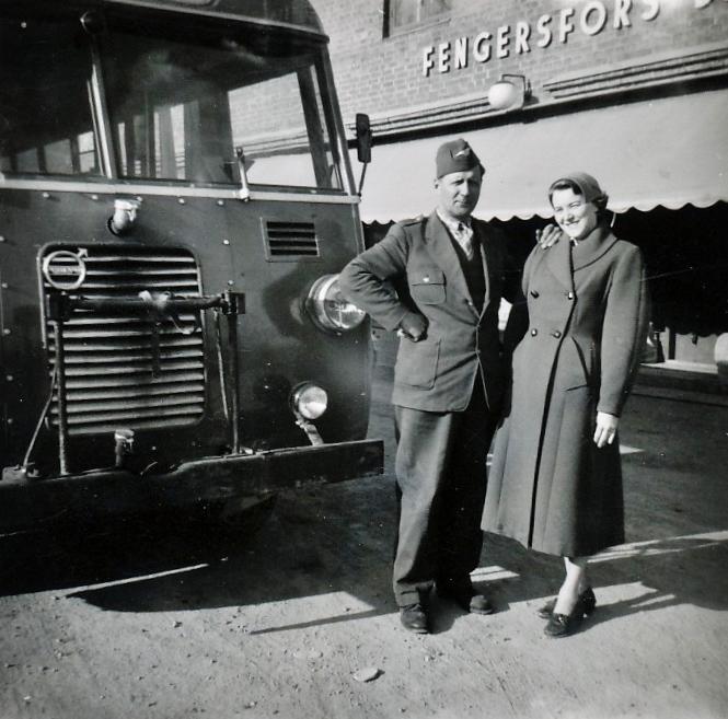 Buss brukshandel Buss Volvo tid 50tal