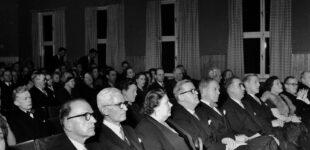Invigning av Fritidslokalerna 1952