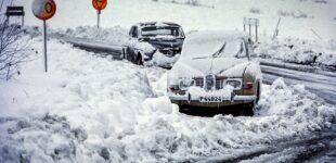 Snöstorm 1971 på Alla Helgons Dag